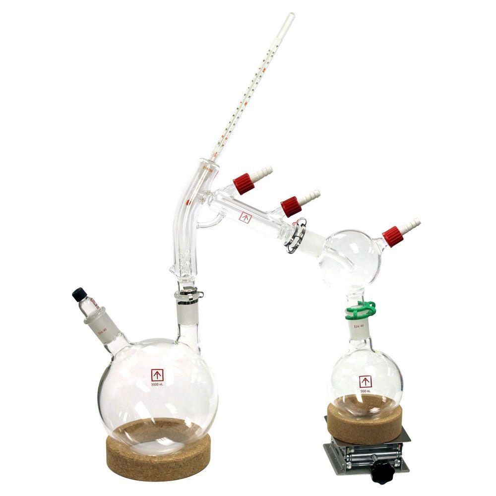 Equipo de destilación de baja evaporación