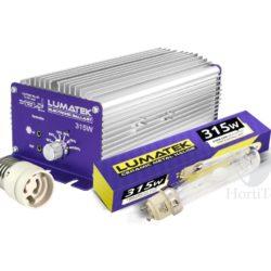 Kit lec 315 w cmh-3100 k lamp (e40) controlable lumatek