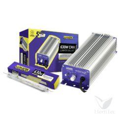 Kit lec 630 w cmh-3100 k d.e lamp controlable lumatek