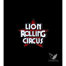 Pin logo lion rolling circus