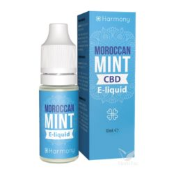 E-liquid moroccan mint (30 mg cbd) 10 ml harmony