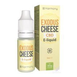 E-LIQUID EXODUS CHEESE (SIN CBD) 10 ML HARMONY